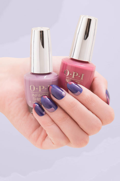 Opi Iceland Collection Infinite Shine Long Wear Nail Polish Art Called Icelandic Skies
