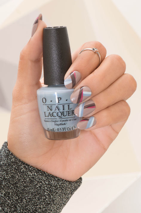 Opi Iceland Collection Infinite Shine Long Wear Nail Polish Art Called Once On This