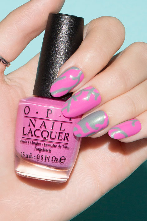 OPI, Fiji Collection, Nail Art, Coral Reef
