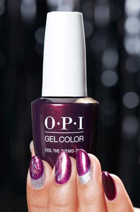 OPI Holiday LOVE OPI XOXO nail art Joy to the Girls 1