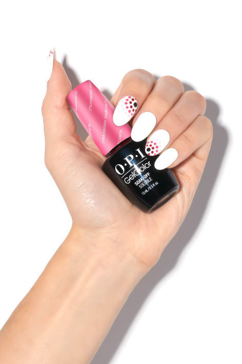 Gratient Dotticure with OPI GelColor - OPI Nail Art