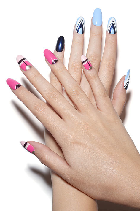 OPI, So Nailicious, nail art, pink
