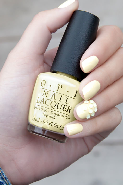 OPI, Soft Shades, nail art, Be Jeweled