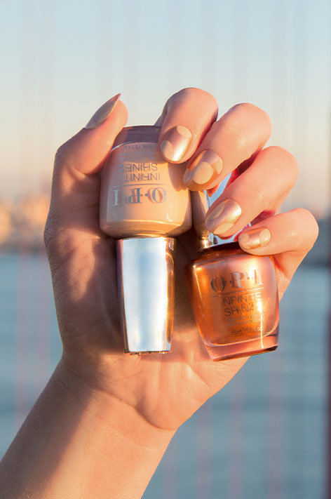 OPI California Dreaming Collection Nail Art SPF OPI with nail polish bottles