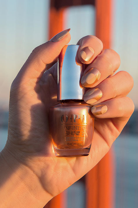 OPI California Dreaming Collection Nail Art SPF OPI with Sweet Carmel Sunday nail polish bottle