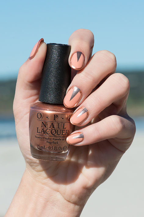 OPI California Dreaming Nail Art Set in the West with Sweet Carmel Sunday nail polish bottle