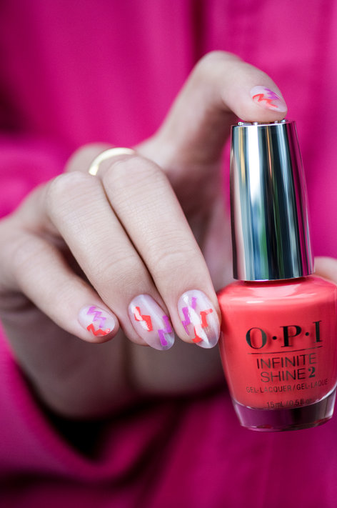The Fuji I See - OPI Nail Art