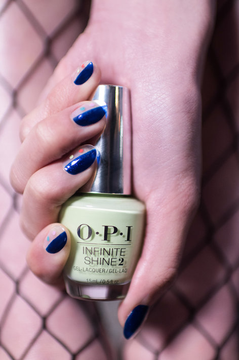 The Meiji Shine - OPI Nail Art