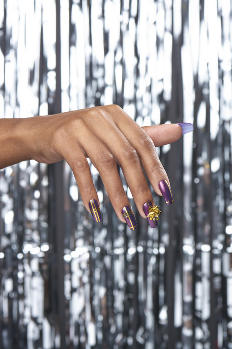 OPI Holiday Nail Art Inspired by Pitch Perfect 3