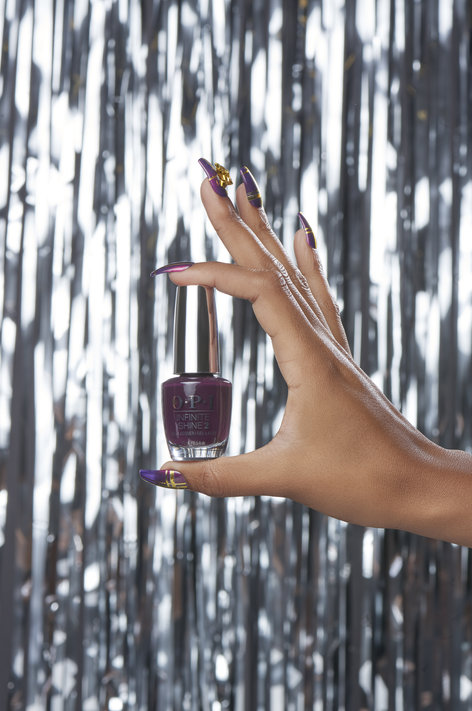 Riff Off The Wrapping Paper - OPI Nail Art