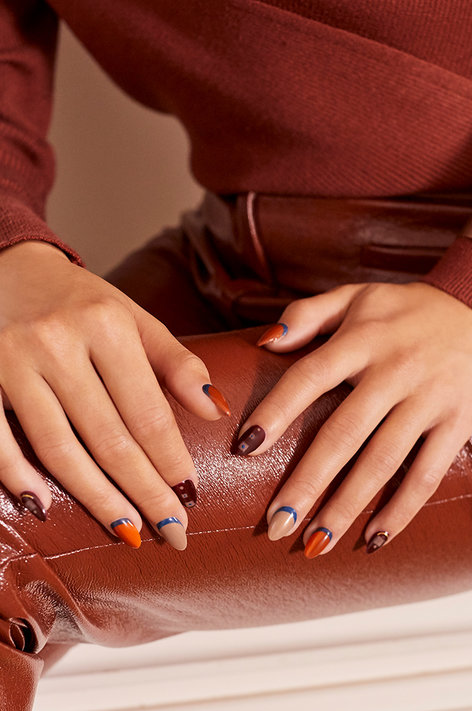OPI Milan Nail Art Model Behavior