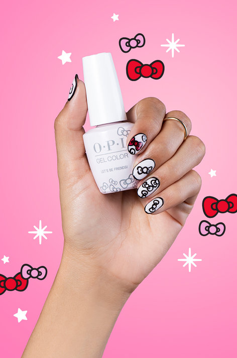 OPI x Hello Kitty Put A Bow On It