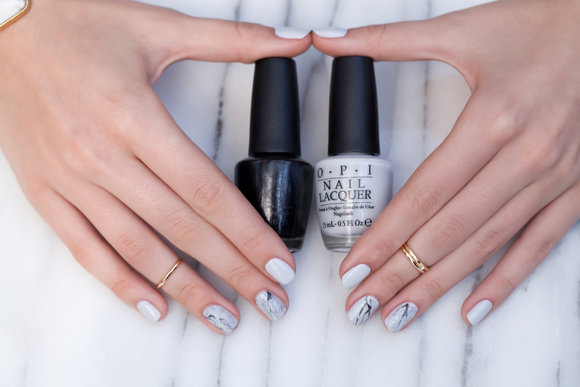 Venice Collection by OPI | Stone Marble Nail Lacquer Art