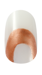 OPI Infinite Shine Nail Art Golden Gate Ridge Step 1