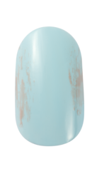 OPI infinite Shine nail art Petal Me Eighties step 2