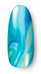 OPI, Fiji Collection, Nail Art, Marbled Waves, Step 5