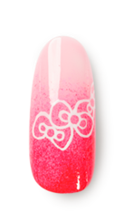 Hello Kitty Collection by OPI, hello kitty nail polish, hello kitty nail art, gel polish nail art, gelcolor nail art