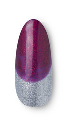 OPI Holiday LOVE OPI XOXO Nail Art Joy to the Girls Step 2
