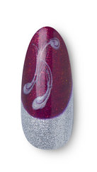 OPI Holiday LOVE OPI XOXO Nail Art Joy to the Girls Step 3
