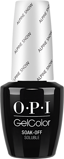 Alpine Snow - GelColor - OPI