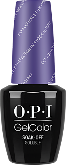 Do You Have this Color in Stock-holm? (Nordic) - GelColor - OPI