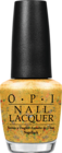 OPI Hawaii - Pineapples Have Peelings Too, nail polish, nail lacquer