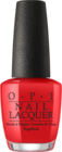 OPI California Dreaming Summer Collection red nail polish To the Mouse House We Go!