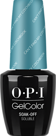 Can't Find My Czechbook - GelColor - OPI