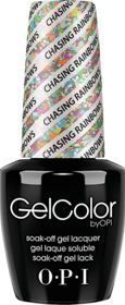 Chasing Rainbows (Glitter) - GelColor - OPI