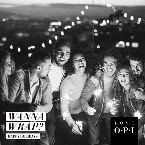 OPI Holiday 2017 E-Card