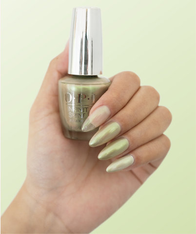OPI Infinite Shine Olive For Pearls