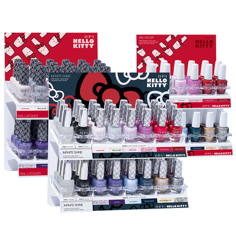 OPI Hello Kitty Collection Displays