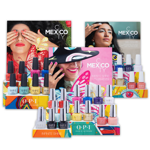 OPI Mexico City Collection Displays