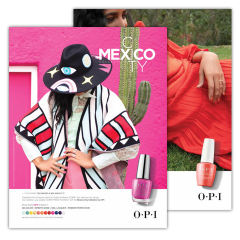 OPI Mexico City Collection Posters
