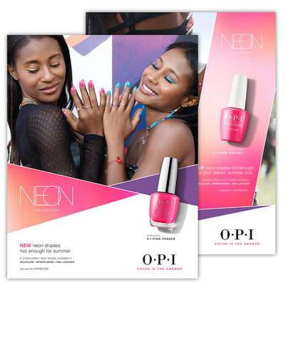 OPI posters and marketing materials
