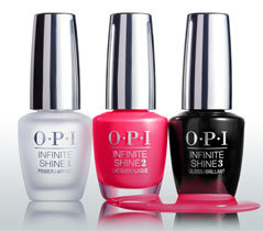 OPI Infinite Shine Menu