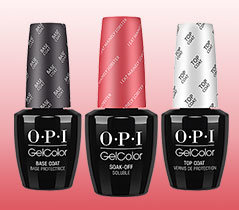 OPI GelColor Menu
