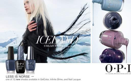 OPI Iceland Collection Referral Card