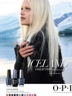 OPI Iceland Collection Poster