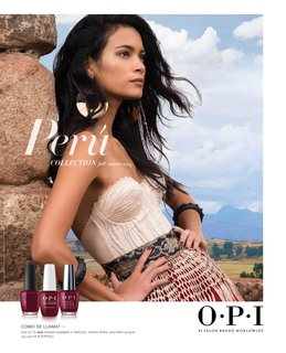 OPI Peru collection poster