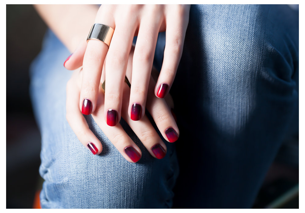 Venice Collection by OPI | Cherry Bomb Nail Lacquer Art