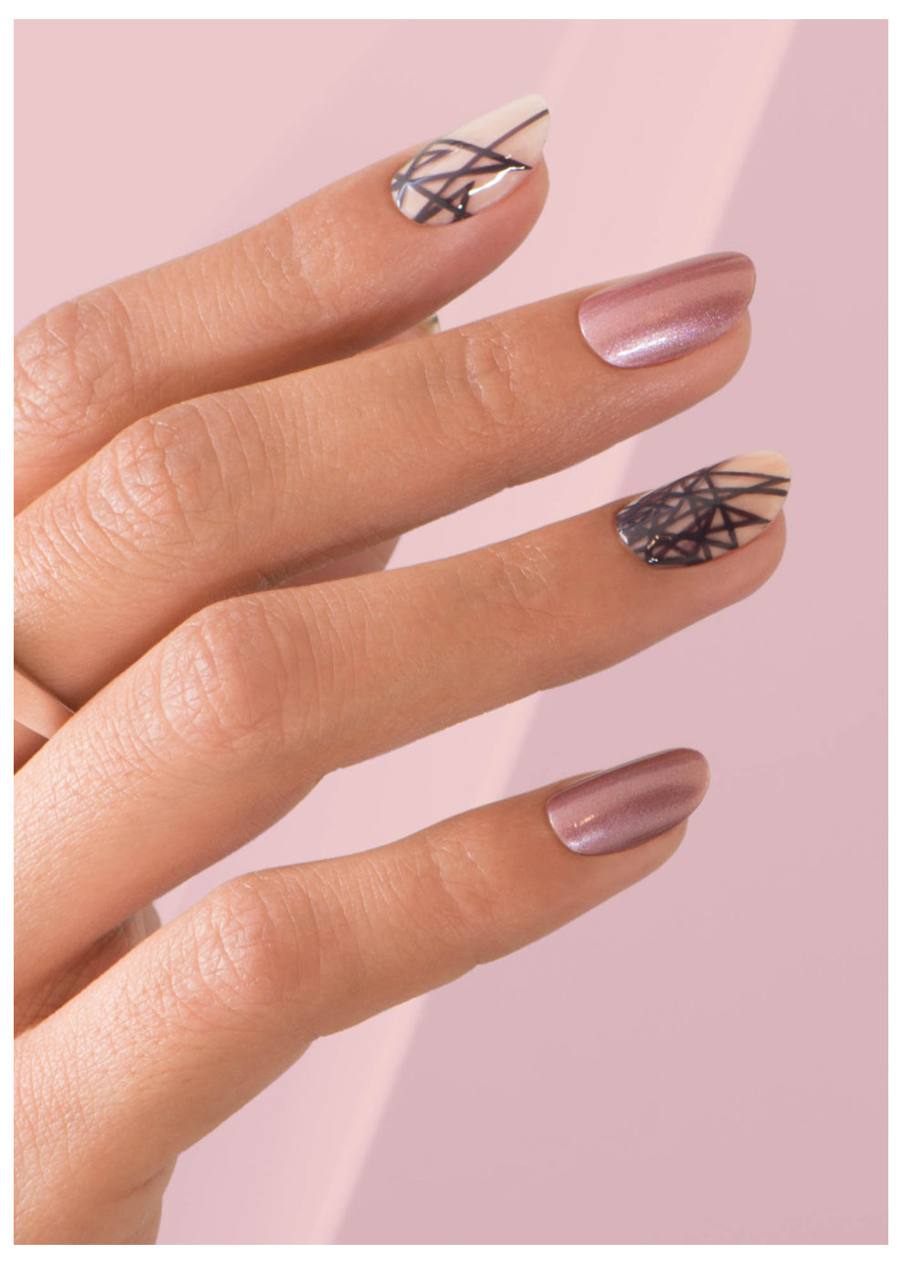 Nail Art Designs And Nail Polishes For French Manicure: Nail Art Gallery