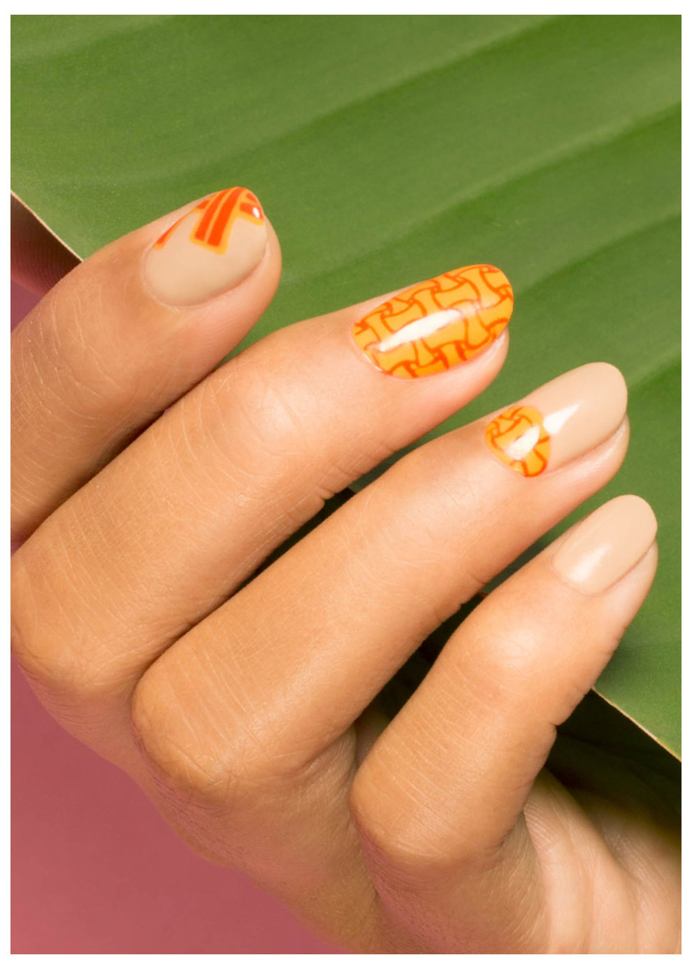Fiji Weaving - OPI Nail Art