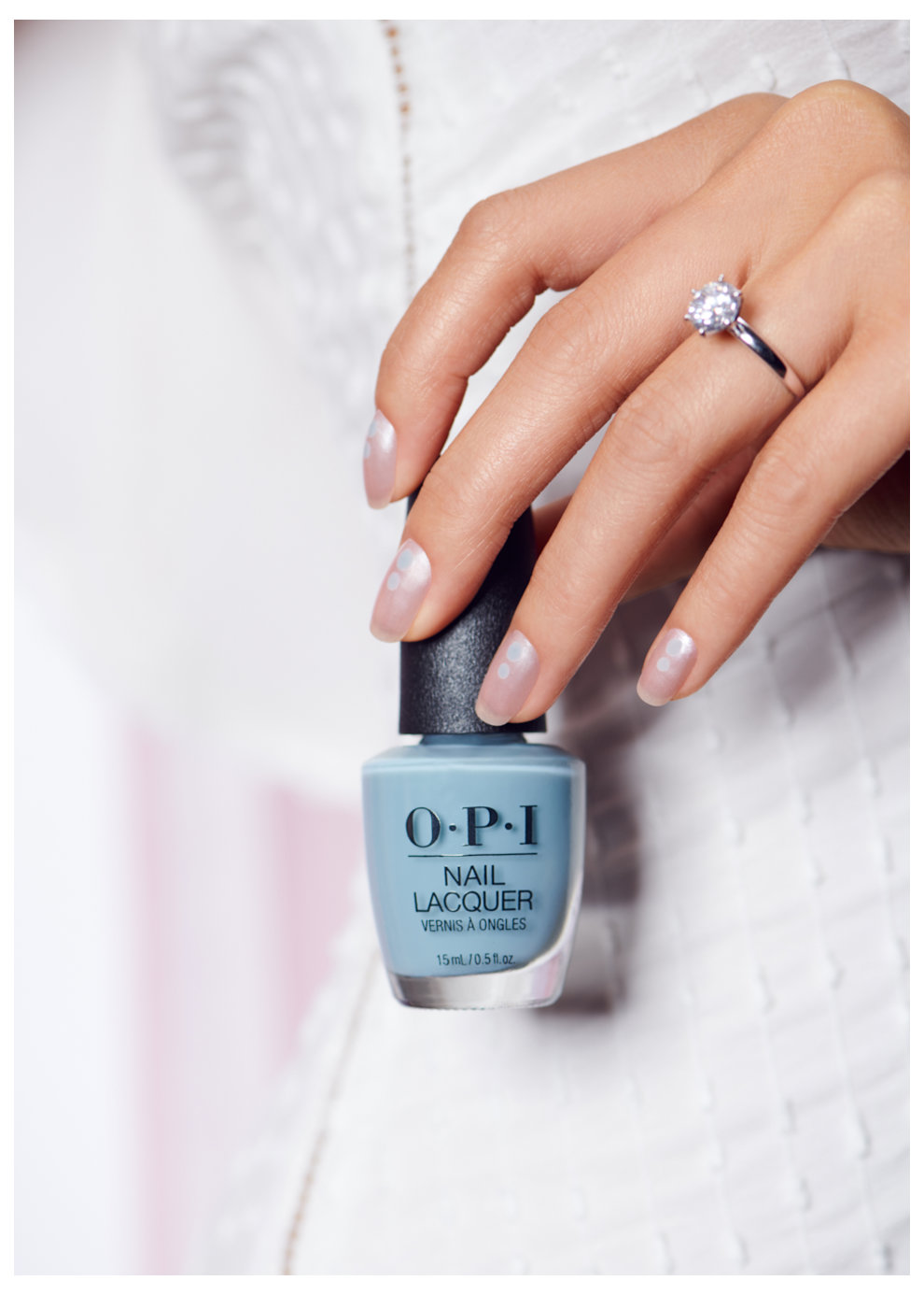 Button Your Tuxedo - OPI Nail Art