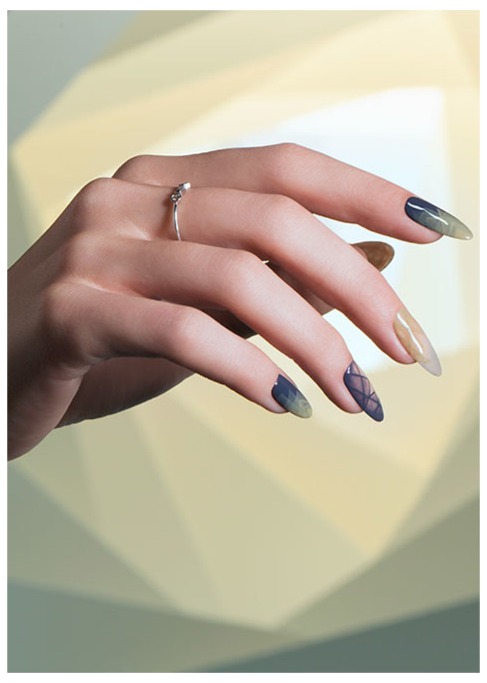 Nail art gallery opi iceland blue me away prinsesfo Images