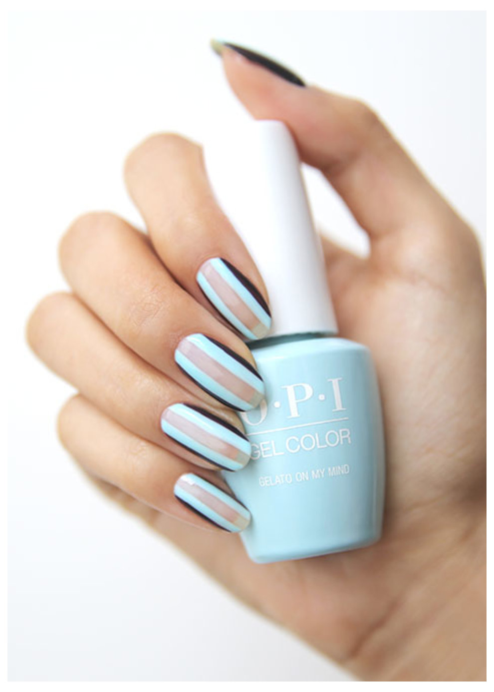 Gel Polish Nail art by Mei Kawajiri @nailsbymei and OPI