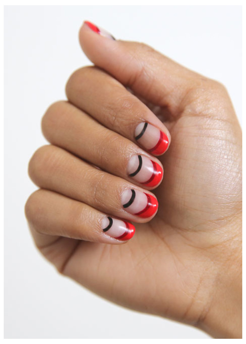 Professional Gel Polish nail art by OPI and Mei Kawajiri @nailsbymei