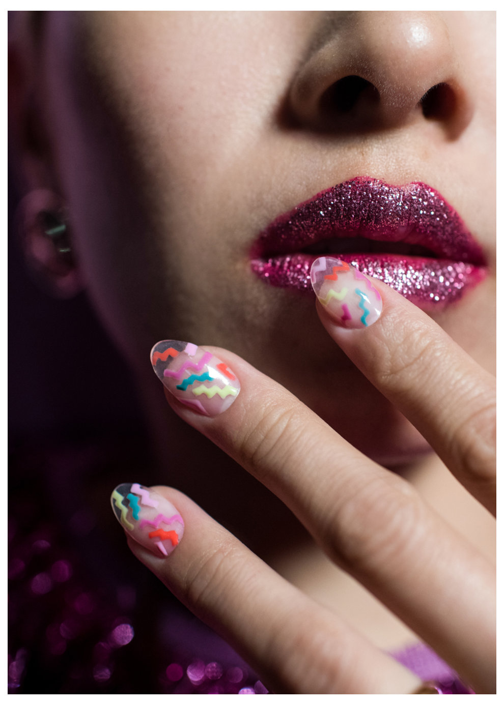 Tokyo Nail Art: Running on the Rainbow Bridge