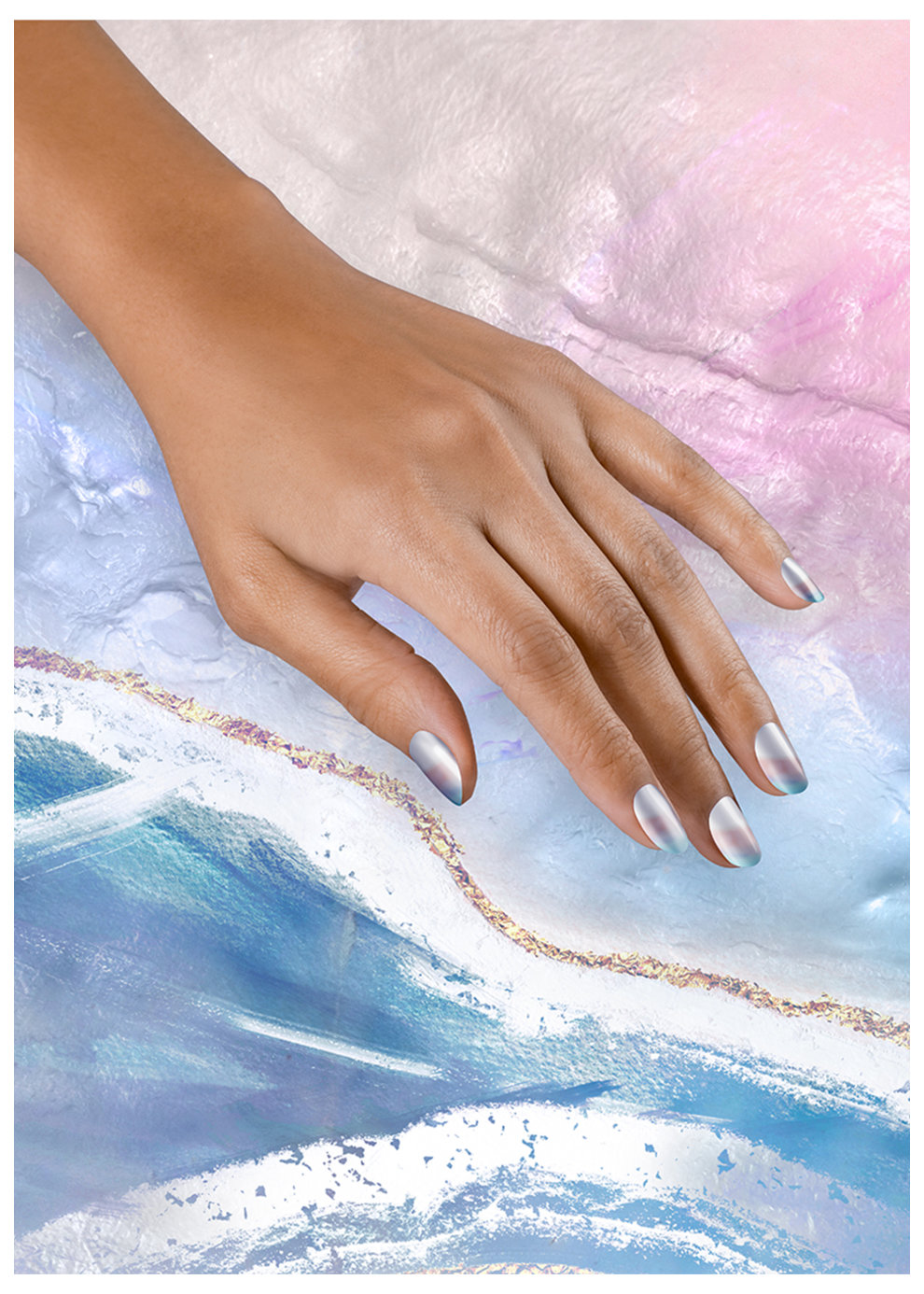 Neo-Pearl Collection Nail Art Pearl-fect Waves