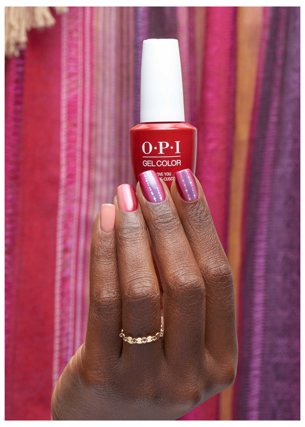 OPI Peru collection nail art